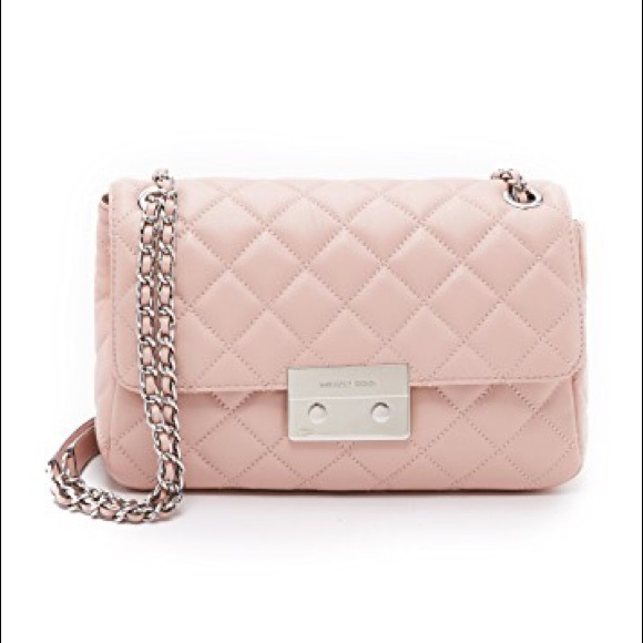 Michael Kors Bags   New Pink Quilted Leather Chain Bag   Poshmark 9eaf74f0db